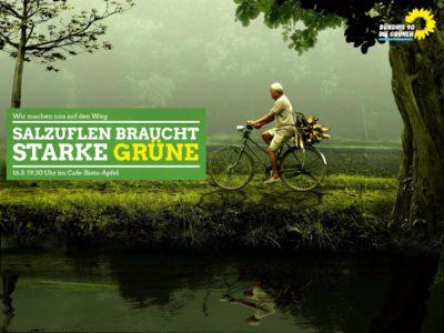 Warum wir starke GRÜNE brauchen! @ Cafe-Bistro-Apfel | Bad Salzuflen | Nordrhein-Westfalen | Deutschland