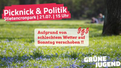 Picknick und Politik @ Stietencronpark
